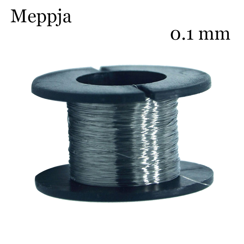 30m/roll 36GA 0.1mm Nichrome Wires For Cigarette RDA RBA RTA Atomizer Heating Wires