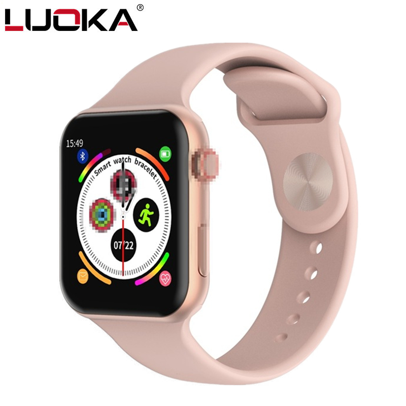 LUOKA Smart Watch F10 Full Touch Screen Heart Rate Blood Pressure Sports Tracker Fitness For Apple IOS Android PK Iwo 8 9 10 W88