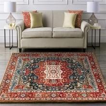 Alfombras Vintage marroquí para sala de estar, dormitorio, mesita de noche, decoración de estilo persa, alfombras de área grande, mesa de centro, alfombra antideslizante