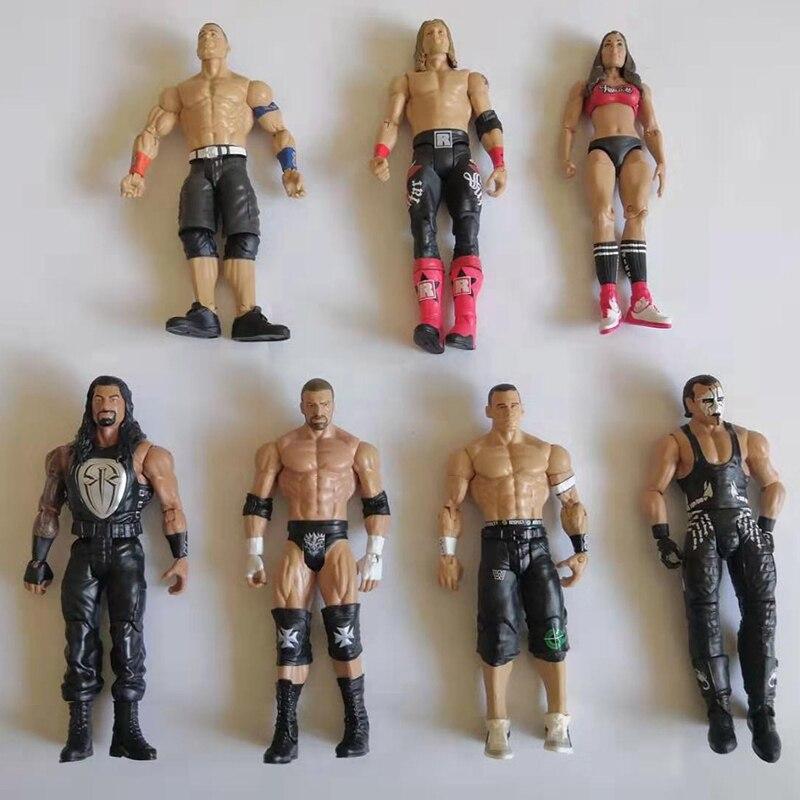 WWE John Cena Wrestling estatuilla edición 2 Estatuilla de campeonato WWE Colección