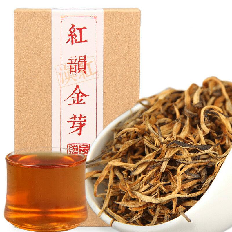 2019 China Cha Dianhong Gold Bud Red Rhyme Jin Ya Black Tea Red Teas 70g/box