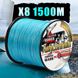 Image 5 - fishing braid line 1500m 2000m wire durable sea ocean ice fishing pe line  fishing all 8 weaves ultra high strength  8 300LBS