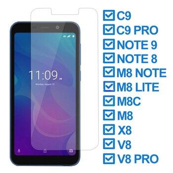 Перейти на Алиэкспресс и купить 9H Защитное стекло для Meizu C9 C9 Pro M8 Lite note 8 M8C Защитная пленка для экрана телефона для Meizu Note 9 V8 Pro X8 закаленное стекло