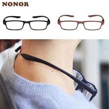 Nonor pescoço pendurado óculos de leitura homem mulher anti-fadiga presbiopia óculos ultraleve oculos gafas inquebrável