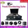 LSZ 4-канал MDVR + водонепроницаемый фотоаппарат + 7-дюймовый дисплей + автомобиля воздушный линии мобильных устройств DVR комплекты