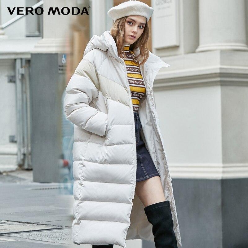 Vero Moda 2019 New Arrivals 3M Reflective Fabric Contrast   Down   Parka   Coat   | 319412511