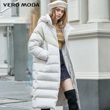 Vero Moda New Arrivals 3M Reflective Fabric Contrast Down Parka Coat