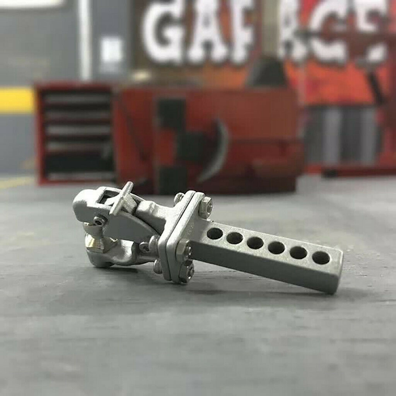 Traxxas rc crawler Metal Hitch Trailer Hook For 1:10 Scx10 90046 90047 Traxxas Trx4 Rc Crawler Car(Silver)|Машинки на радиоуправлении|   | АлиЭкспресс