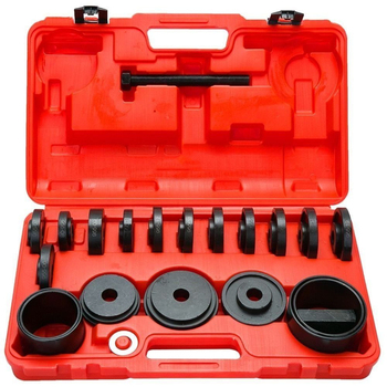 23pcs FWD Front Wheel Drive Bearing Adapters Puller Press Replacement Installer Removal Tool Kit With  Carrying Case