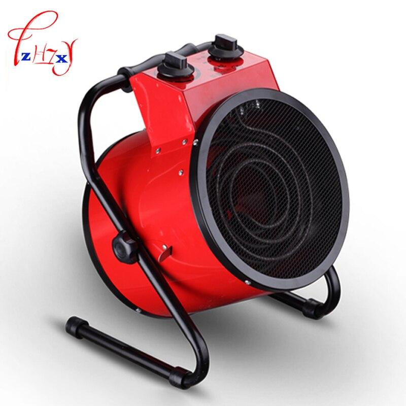 1 шт. высокомощный бытовой термостат промышленные Обогреватели теплый воздух вентилятор нагревателя паровой воздушный обогреватель