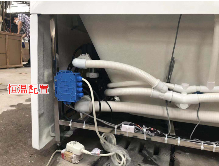 Banheira de hidromassagem acrílica da banheira do redemoinho da fibra de vidro de 1700mm-1