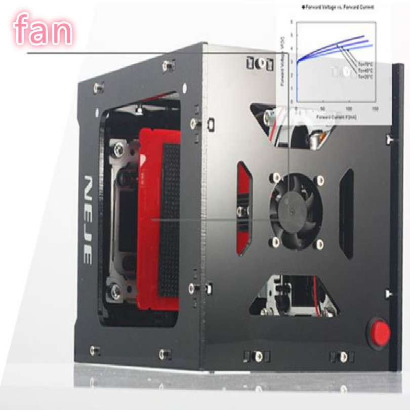 1000mW wood leather plastic cnc laser embossing machine screen printing machine DIY pattern Printing Machines