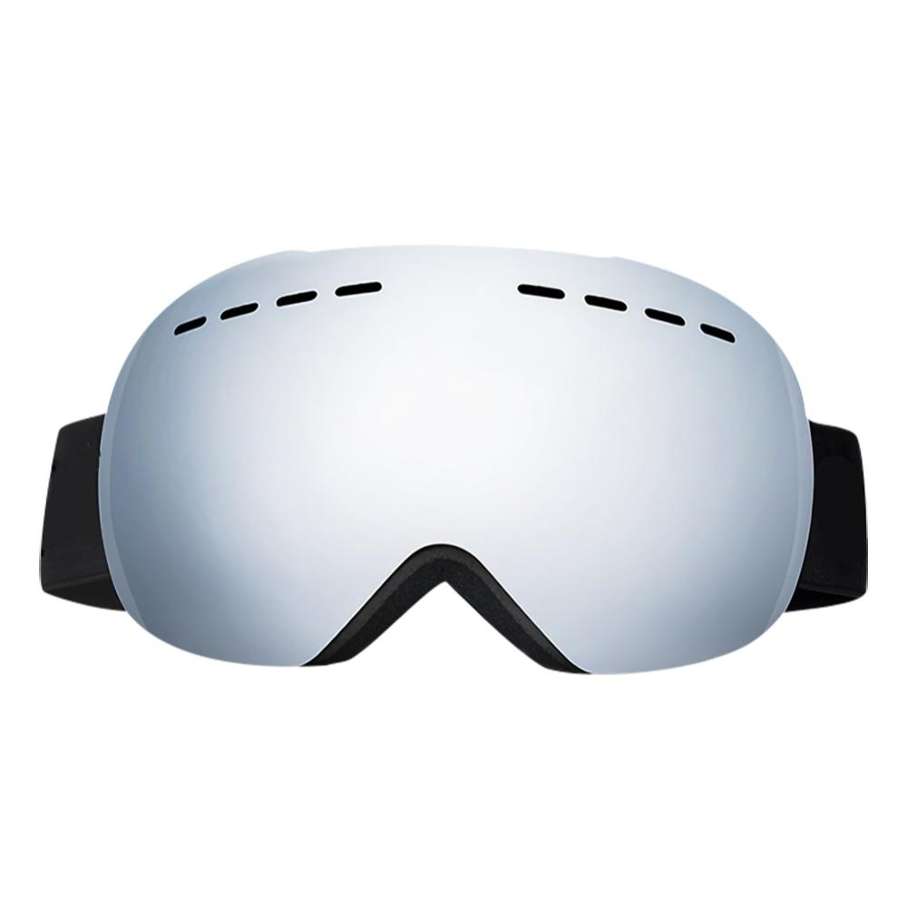 Outdoor Skating Skiing Goggles Double Layers Ski Goggles UV Anti-fog Protection Glasses Spherical Lens Snow Snowboard Eyewear