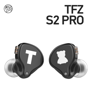 TFZ S2 PRO In-ear Earphone Dynamic Diaphragm Earphone HIFI Bass Headset Earbud With 2Pin Cable 0.78mm Detachable 1