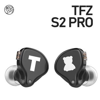 TFZ S2 PRO In-ear Earphone Dynamic Diaphragm Earphone HIFI Bass Headset Earbud With 2Pin Cable 0.78mm Detachable 1