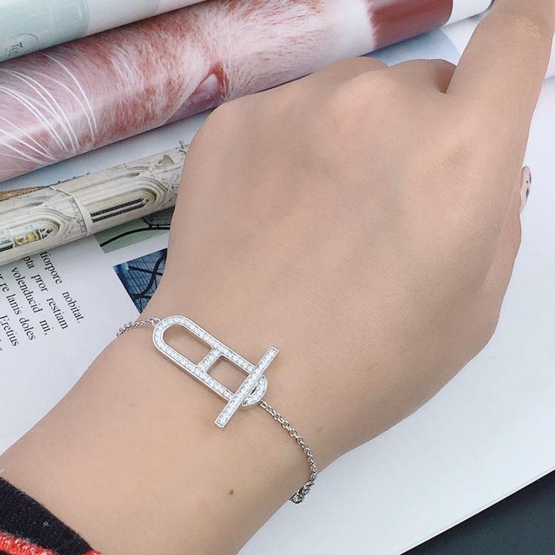 Breloque en cristal or plus de Bracelets et Bracelets pendentif pour les femmes