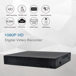 Image 3 - キーパー H.265 4CH /8CH poe nvr hd 1080 p 2MP poe ip オーディオカメラ poe nvr 48 v 802.3af P2P onvif ネットワークビデオレコーダー