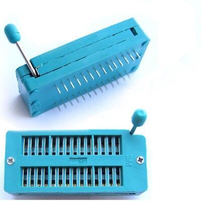 Tüketici Elektroniği'ten Pil Aksesuarları ve Şarj Aksesuarları'de DHL/EMS 100 ADET PCB Ic'ler İşlemciler Test 28pin ZIF Socket A8 title=
