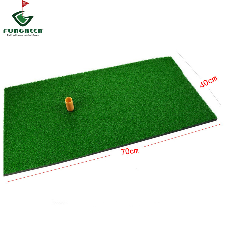 Manufacturers Direct Selling Swing Practice Pad Golf Ball Personal Golf Mat 40*70 Cm Send Ball Tee + Ball
