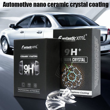 30ml 50ml Nano Ceramic Coating Pro Hydrophobic Paint Protection Car High Temperature Resistance M8617 30ml hardness 10h super hydrophobic car glass coating car liquid coat paint care durability anti corrosion coating set