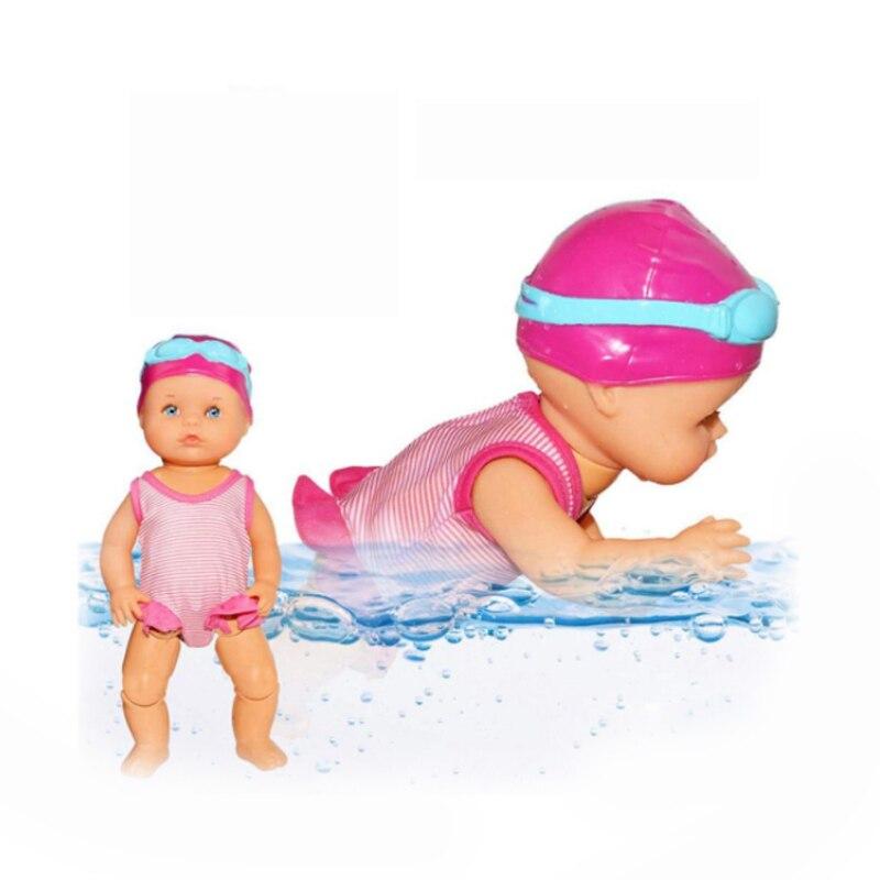 游泳娃娃E 33cm-3