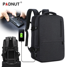 цена Large Laptop Backpack Anti Theft Women Men Bagpack Mochila Notebook Male Backpacks 17 USB Charger Travel Business Back Pack Bags