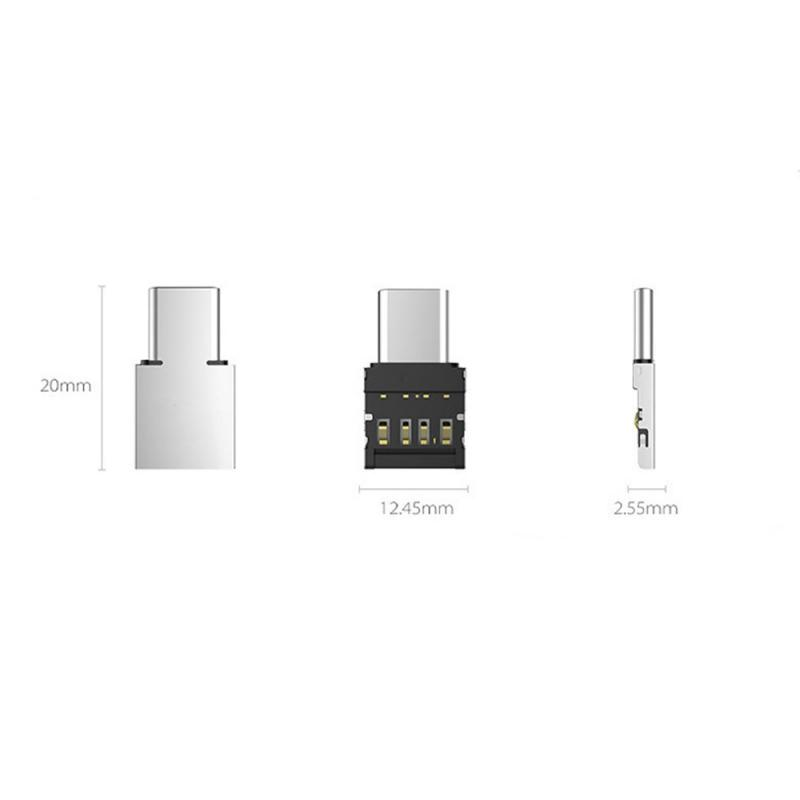 USB To Type-c Converter Adapter Multi-function Type-c Adapter OTG Converter USB Micro-transfer Interface Adapter