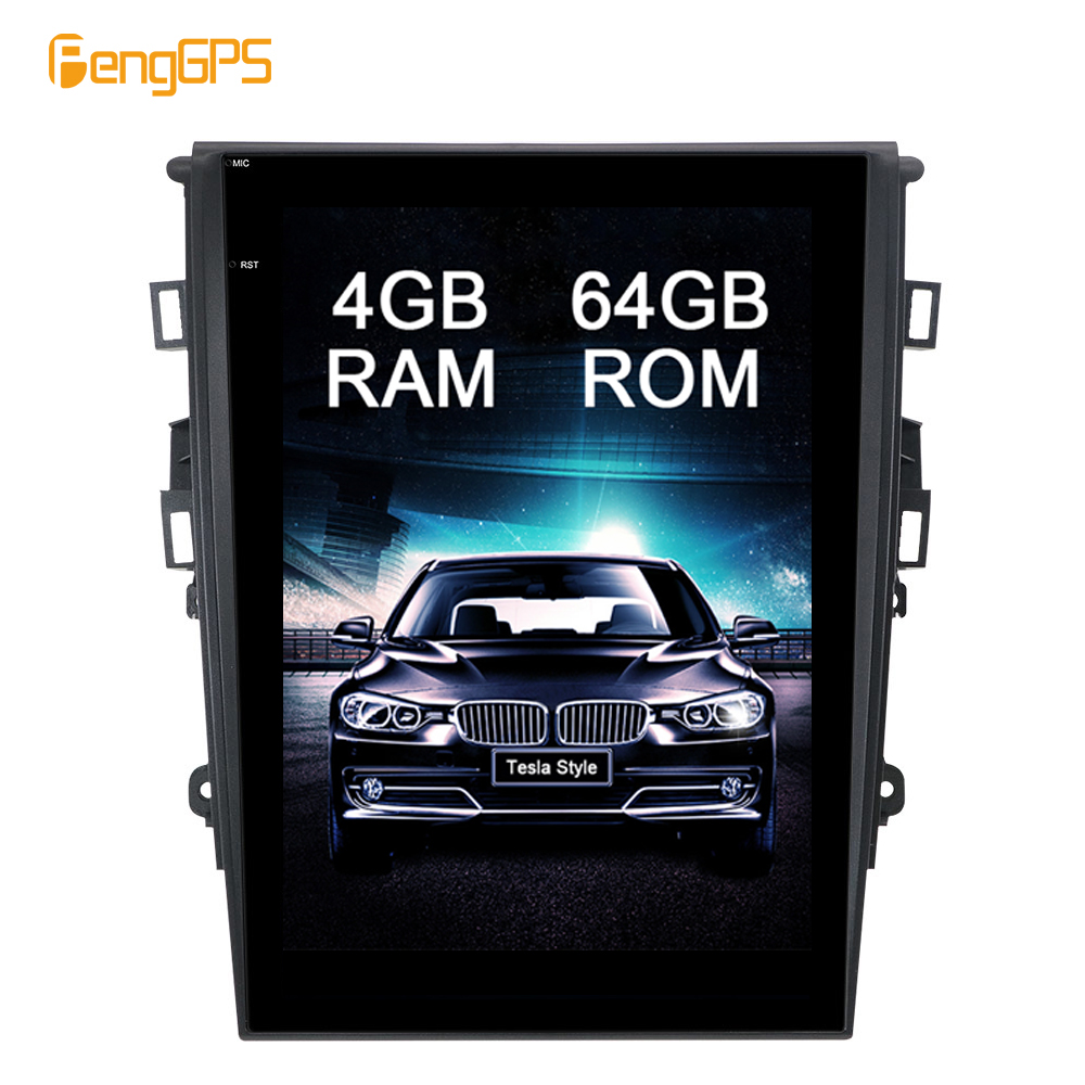 12 1 Inch Android 8 1 Car GPS Navigation DVD Player for Ford Mondeo for Fusion
