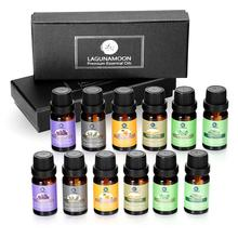 Lagunamoon Pure Essential Oils 10ml*12pcs Gift Set Diffuser
