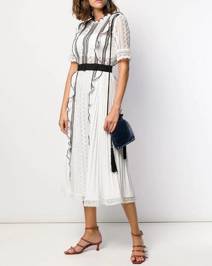 2019 Nuovo arriva abito bianco di alta qualità-in Abiti da Abbigliamento da donna su  Gruppo 1