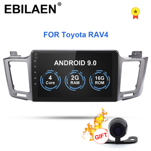 Car DVD Multimedia player For Toyota RAV4 RAV 4 2013-2017 2Din Android 9.0 Autoradio GPS Navigation Radio Cassette Recorder(China)
