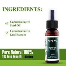 HEMPOLIS Hemp Oil Spray CBD and Hemp Seed Oil 30ML 100% Natural Safety Drops Body Relieve Stress Skin Care Help Sleep