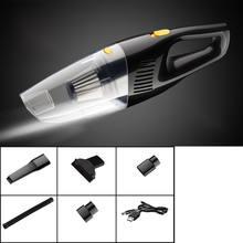 5000pa мощный всасывающий автомобильный пылесос фильтр dc 12