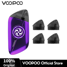 VOOPOO ROTA Spinning Pod Kit Vape 340mAh Built-In Battery 1.5ml Capacity 1.5ohm with 4Pcs Rota Cartridge E Cigarette E-Cig