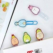 1 pcs Sumikko Gurashi Cute Cartoon Silicone Paper Needle Clip Photo Memo Note Clips Office Supplies