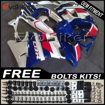 Custom fairing for CBR600F2 1991 1992 1993 1994 ABS plastic motorcycle panels red blue white+gifts