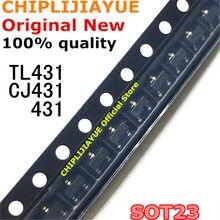 100PCS TL431 CJ431 SOT-23 TL431A SOT23 431 SOT SMD new and original IC Chipset