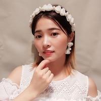 Korea Handmade Pearl Hairband Women Elegant Classic Bow Headband Sweet Girl Non slip Hair Accessories Fashion Princess Headdress