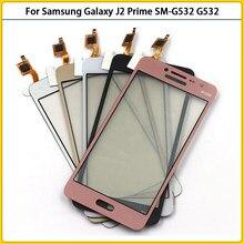 10 sztuk ekran dotykowy dla Samsung Galaxy j2 Prime SM-G532F G532 G532G G532M ekran dotykowy Panel Digitizer czujnik przednia szyba...