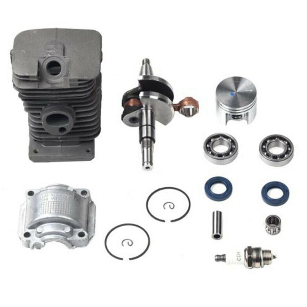 38mm Engine Motor Parts Cylinder Piston Plug Tool Pin Ring Crankshaft Chainsaw Kit Garden Crank Bearing For STIHL MS170 MS180