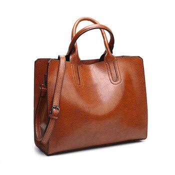 сумка женская натуральная кожа 2020 модная женская сумка через плечо ZDG вместительная сумка для женщин