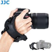 JJC מתכוונן שחרור מהיר יד ורצועות יד עבור Canon ניקון Sony Fujifilm אולימפוס Pentax Panasonic מחזיק מצלמות רצועה