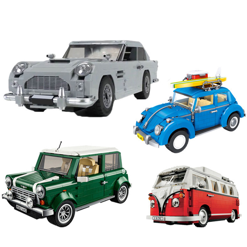 >Technic Series 10262 Aston Martin DB5 Set Building Blocks Bricks Children <font><b>Car</b></font> Model Gifts Toys Compatible with <font><b>legoing</b></font>