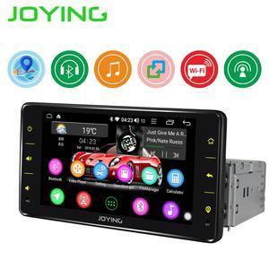 JOYING single din 6.2 inch Android 8.1 Car radio player Quard Core head unit support SWC/Mirror link/wifi GPS USB BT autoradio