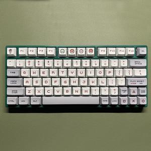 1 комплект XDA профиль PBT краситель sub keycap для MX Переключатель механическая клавиатура Марио FC NES ключевые колпачки подходит для gh60 gk61 gk64 96 104
