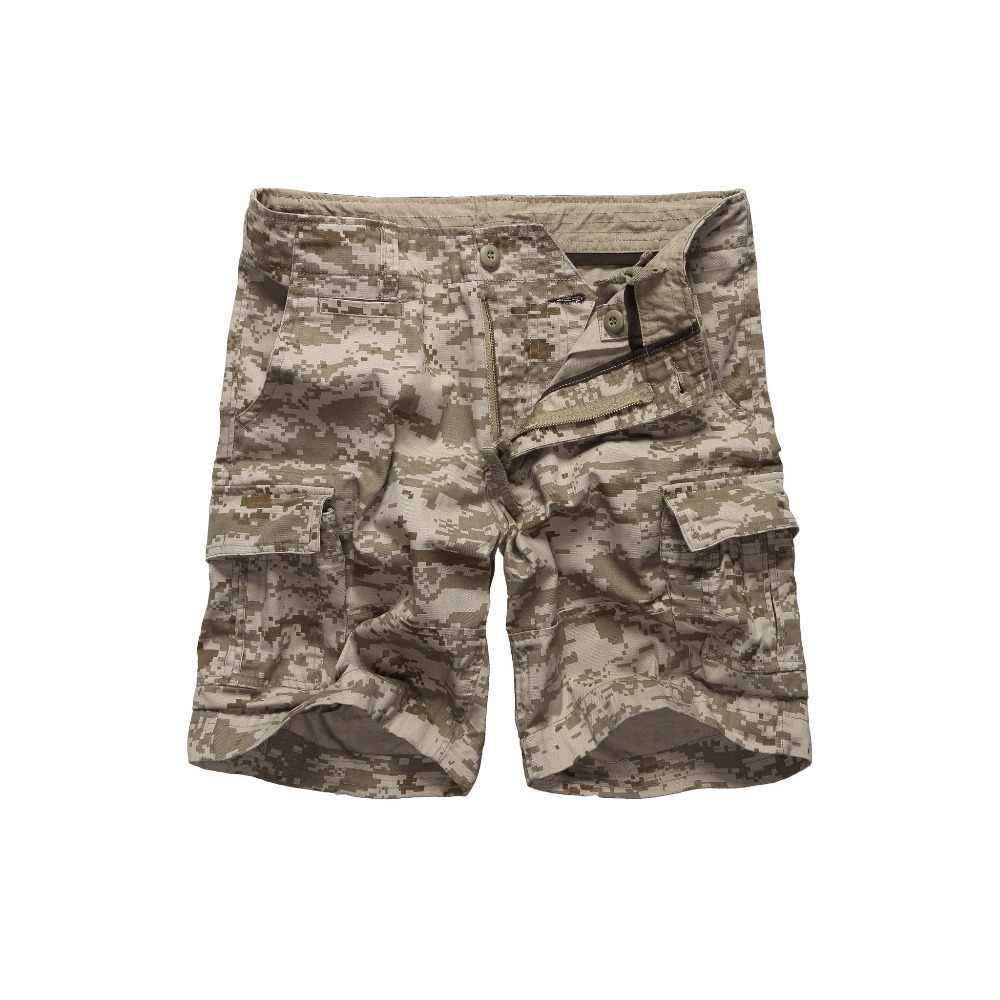 Mens Militaire Camouflage Cargo Shorts Casual Work Multi-zakken Broek Taille 30 tot 42 inch