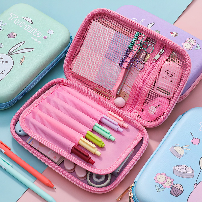 Pencil Case Kawaii Bag Estojo Escolar Estuche Piornik Szkolny Astuccio Scuola School Supplies Bags Cute Pen Box Piurniki Szkolne