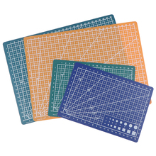 A4/A5 PP Double-sided Grid Lines Cutting Board Mat Self-healing Cutting Pad DIY