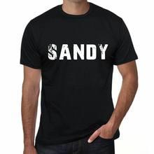 Sandy herren t camisa schwarz geburtstag geschenk 00553