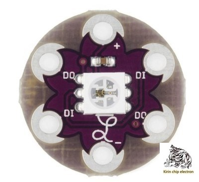 10 PCS/ LOT LilyPad Pixel Board WS2812 Disc